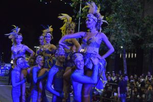Tabú Desfile de Carnaval 2018 - Foto de Graciela Guffanti.