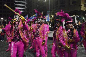 Zíngaros - Desfile Carnaval 2018 - Foto: Graciela Guffanti.