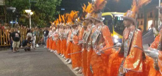 Zíngaros 2019 en el desfile